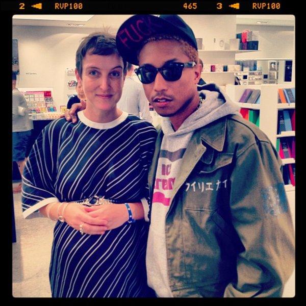 Pharrell est à Paris!