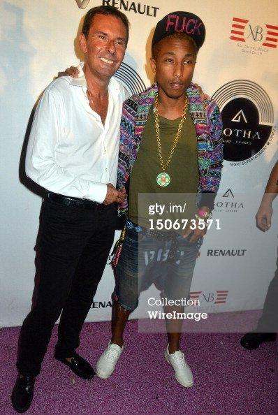 Pharrell - Gotha Club - Cannes - 23 août 2012