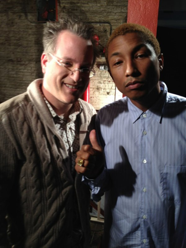Pharrell - New York - 6 Septembre 2012