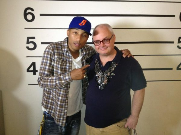 Pharrell & Mickey Boardman - Septembre 2012