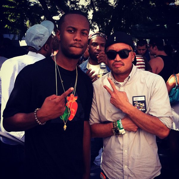 Casey Veggies & Chad - 13 septembre 2012