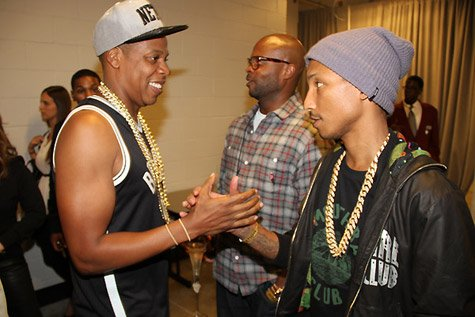 Coulisses du concert de Jay-Z au Barclays Center - NYC - 28 septembre 2012