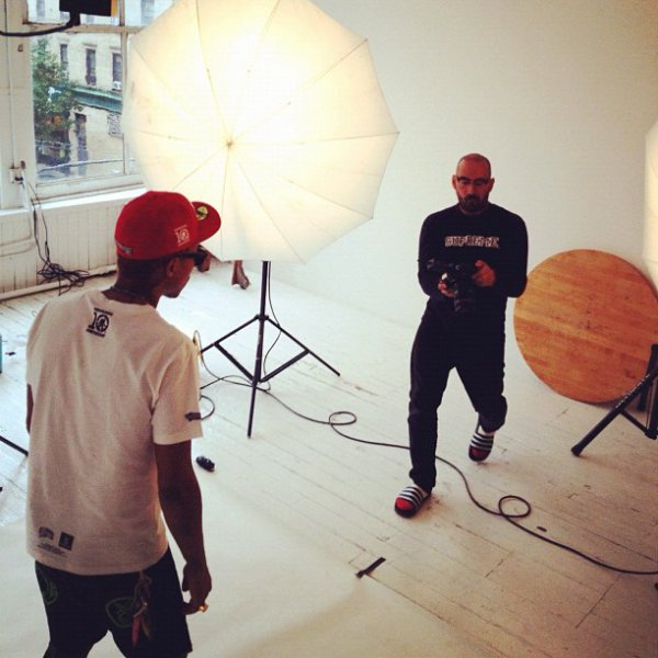 Pharrell BBC Shoot - NYC - 7 octobre 2012
