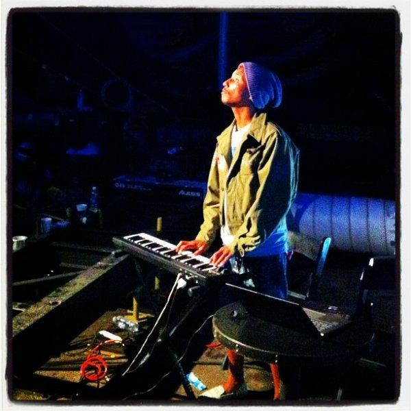 Pharrell & David Blaine - NYC - 7 octobre 2012