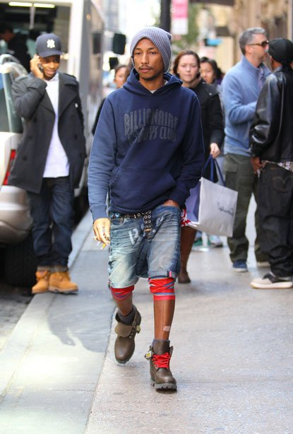 Pharrell - SoHo - 12 octobre 2012