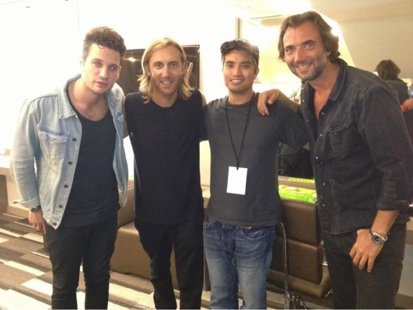 Chad, Kaz James & David Guetta