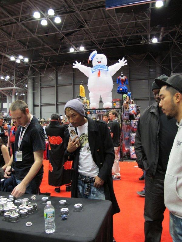 Pharrell - New York Comic Con - 13 octobre 2012