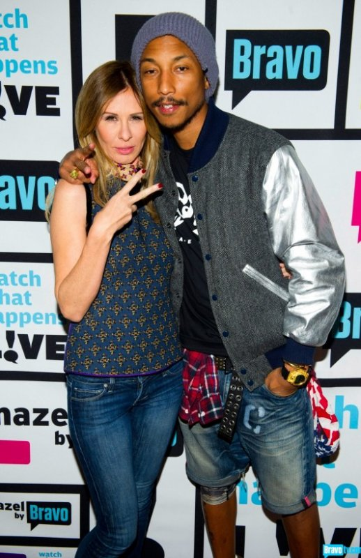 Pharrell - Emission Watch What Happens Live - 8 novembre 2012