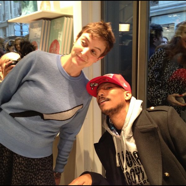 Pharrell - Séance de dédicaces Places & Spaces I've Been @Colette - Paris - 10 novembre 2012