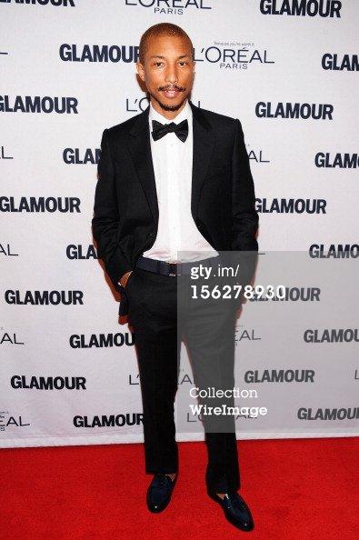Pharrell - Cérémonie célébrant la femme de l'année par Glamour Magazine - New York - 12 novembre 2012