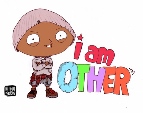 Pharrell (x Family Guy) by Mina Kwon