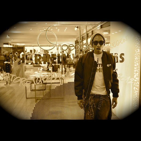 Pharrell à Hong Kong - 27-28 novembre 2012