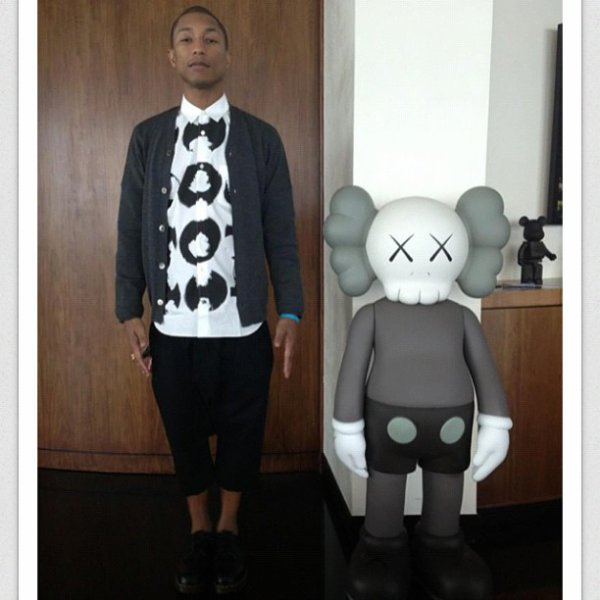 Pharrell est sur Instagram!