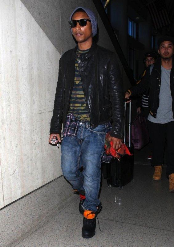 Pharrell - Los Angeles - 14 & 15 janvier 2013