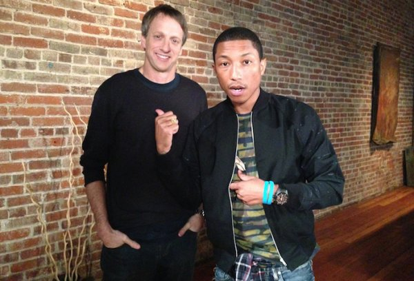 Pharrell - Los Angeles - 14 & 15 janvier 2013