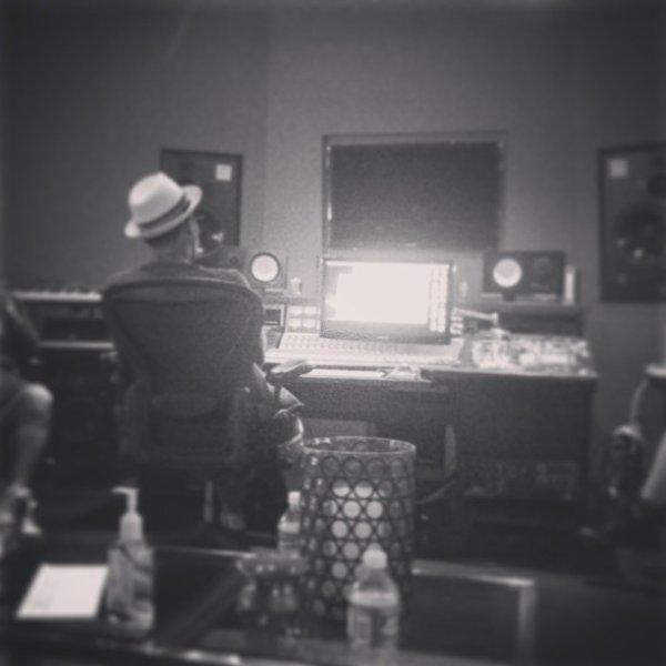 Pharrell en studio ... - 22 janvier 2013