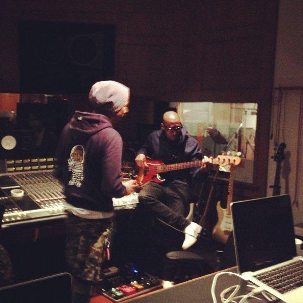 Pharrell en studio ... - 5 février 2012