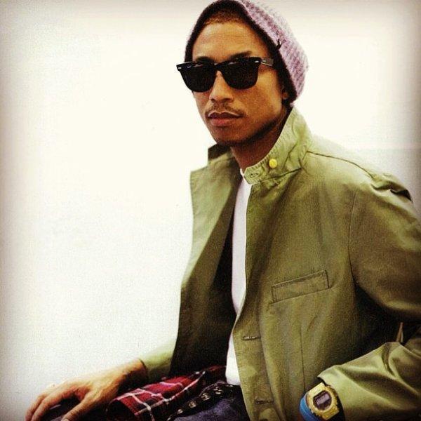 Interview de Pharrell parThe Hollywood Reporter