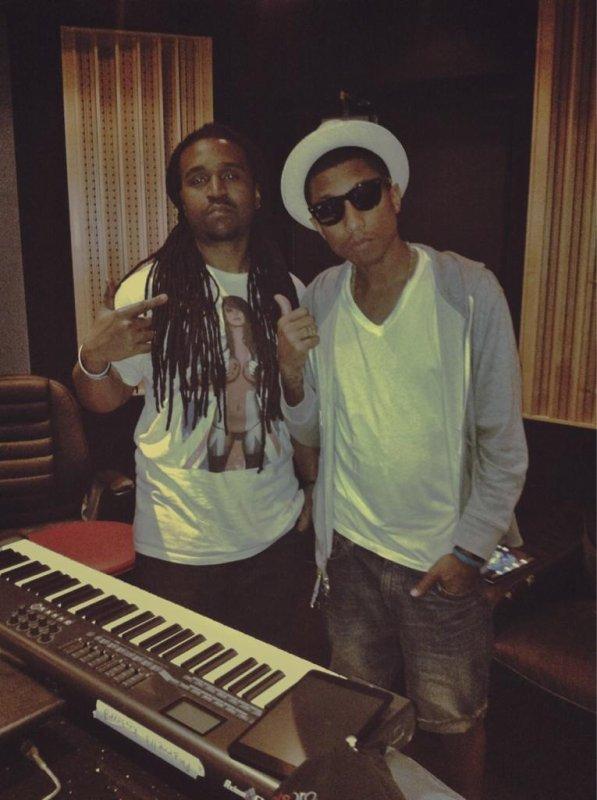 Pharrell & SAG Live - février 2013