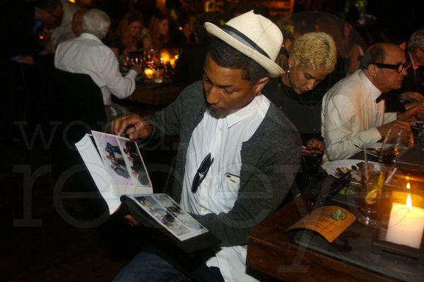 Pharrell & Helen - 50e anniversaire de Craig Robins - Miami - 23 février 2013
