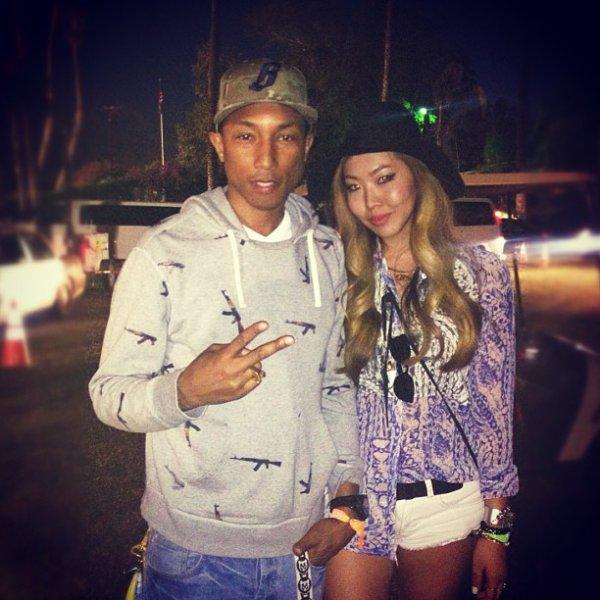 Pharrell - Coachella festival jour 1 - 13 avril 2013