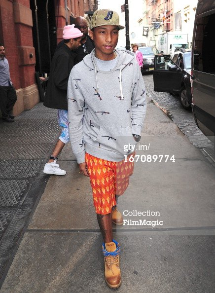 Pharrell - New York City - 19 avril 2013