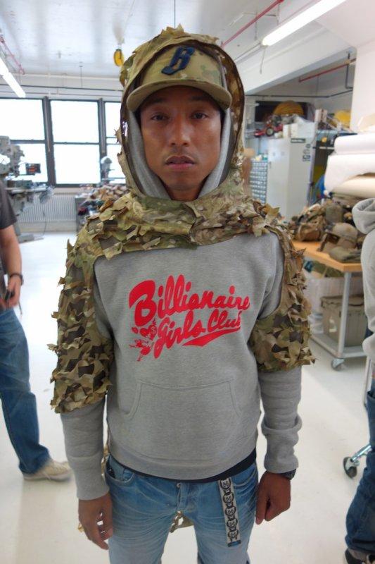 Pharrell - Brooklyn - fin avril 2013