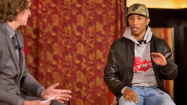 Interview de Pharrell par Tyler Gray - NY - 24 avril 2013
