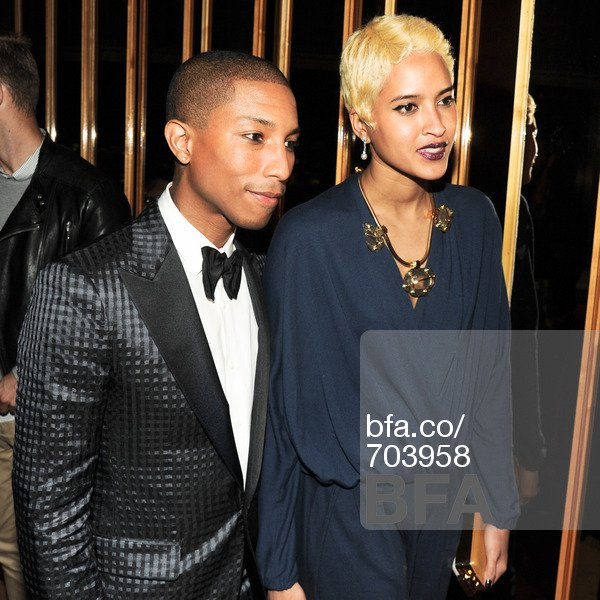 "Pharrell & Helen - MET Ball 2013 ""PUNK: Chaos To Couture"" - NYC - 6 mai 2013"
