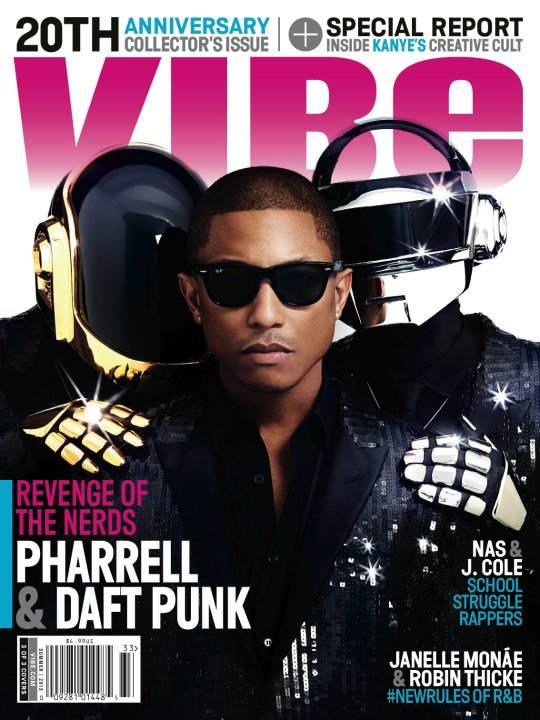Pharrell & Daft Punk - VIBE Magazine Summer 2013