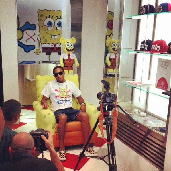 Ice Cream x Spongebob - NYC - 10 septembre 2013