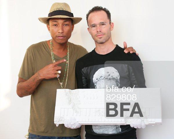 Pharrell x Daniel Arsham dîner à l'occasion de leur collaboration - NYC - 11 septembre 2013