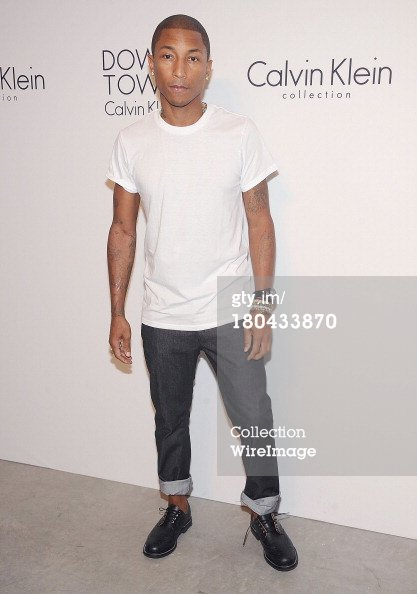 Pharrell - (Fashion Week) Calvin Klein After Party - NYC - 12 septembre 2013