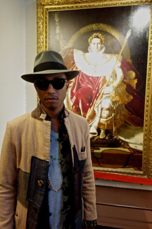 Pharrell - Paris - 27 septembre 2013