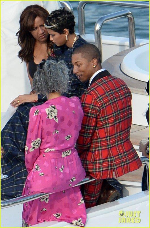 Mariage de Pharrell & Helen - Miami - 12 octobre 2013