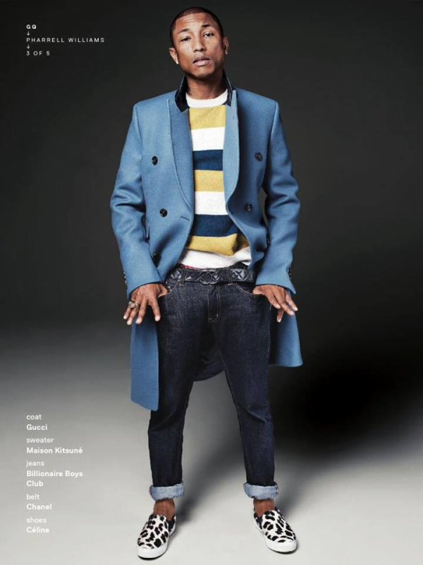 Pharrell - GQ Magazine (US) - Décembre 2013
