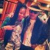 Pharrell en studio avec ... - Hollywood - 23 novembre 2013