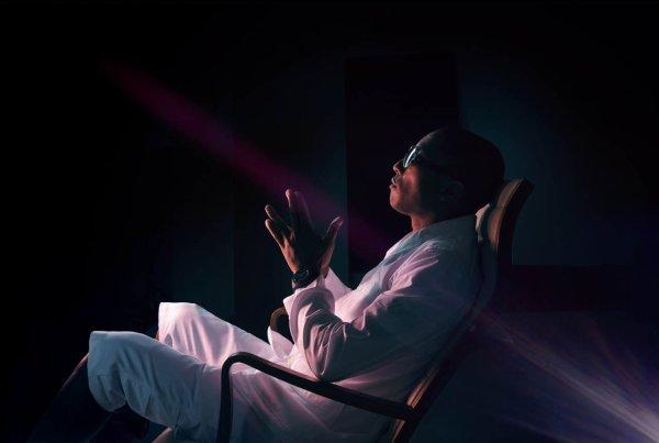 Pharrell dans Complex Magazine