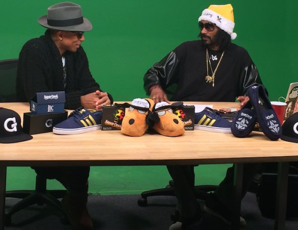 Pharrell & Snoop - GGN