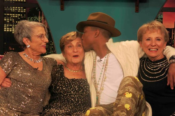 Pharrell & The Golden Sisters