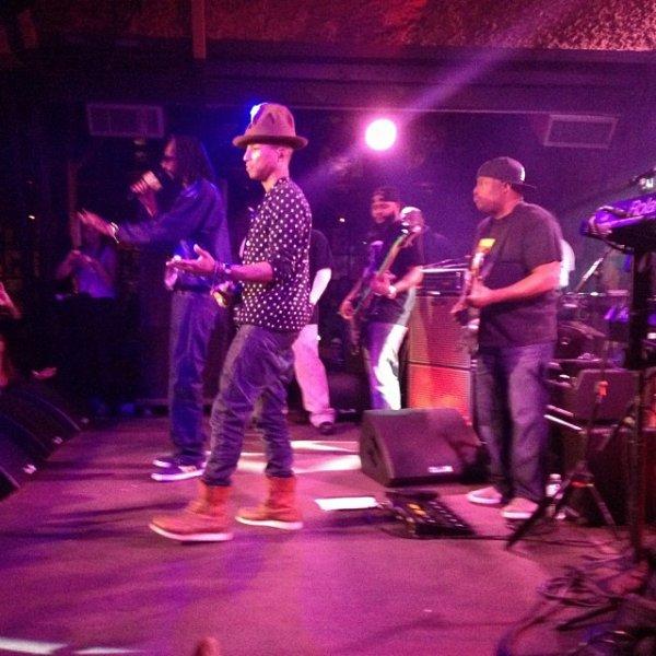 Pharrell - WME La Costa Retreat 2014 - Californie - 9 janvier 2014