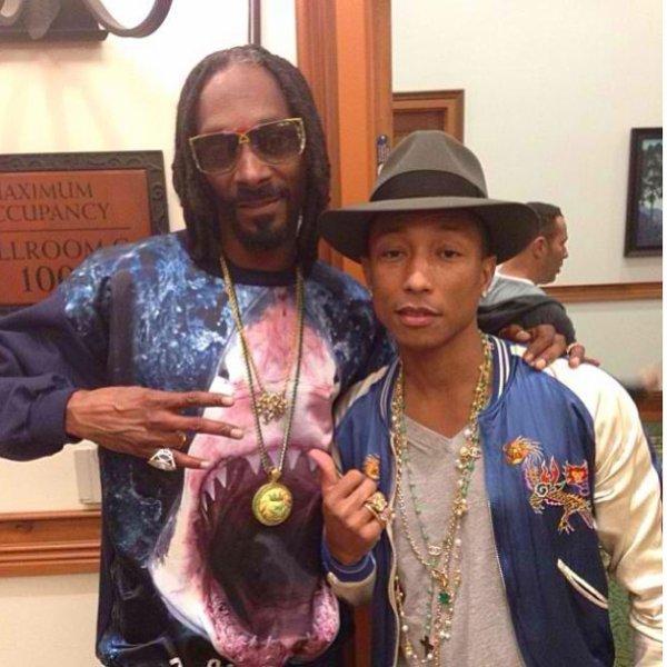 Pharrell & Snoop Dogg - Janvier 2014