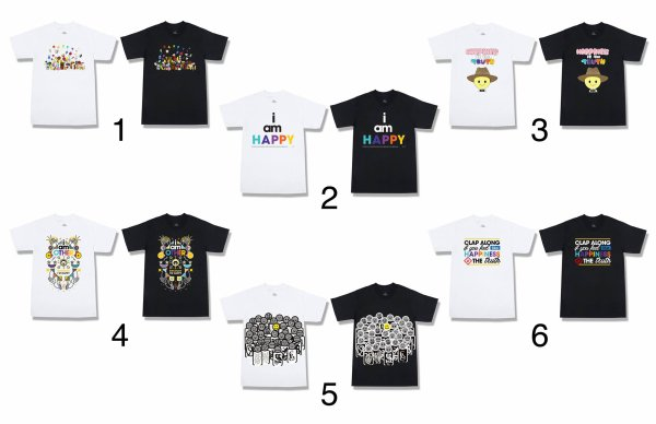 T-Shirts HAPPY