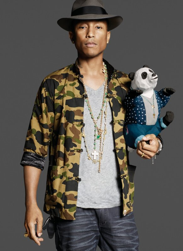 Pharrell - I AM Heart For Panda
