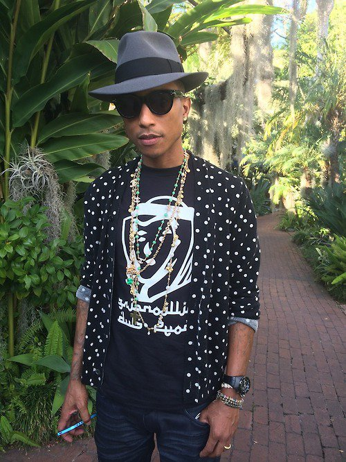Pharrell - Los Angeles -  Janvier 2014