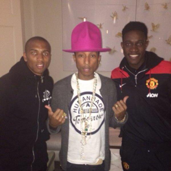 Pharrell & ... - Londres - 21 février 2014