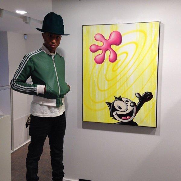 Pharrell - Paris - 24 janvier 2014