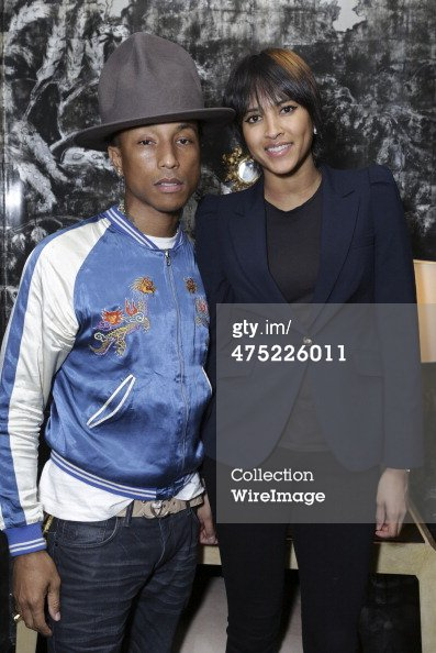Pharrell - VIOLET GREY Honors Elizabeth Taylor - Los Angeles - 26 février 2014