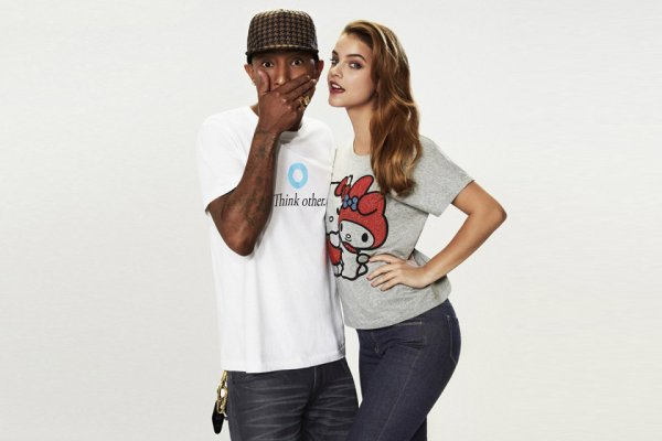 Pharrell collabore avec Uniqlo