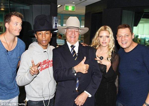 Pharrell - Australie - 6 mars 2014